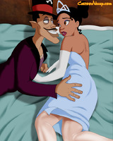 Sexy Tiana and  naughty Dr. Facilier