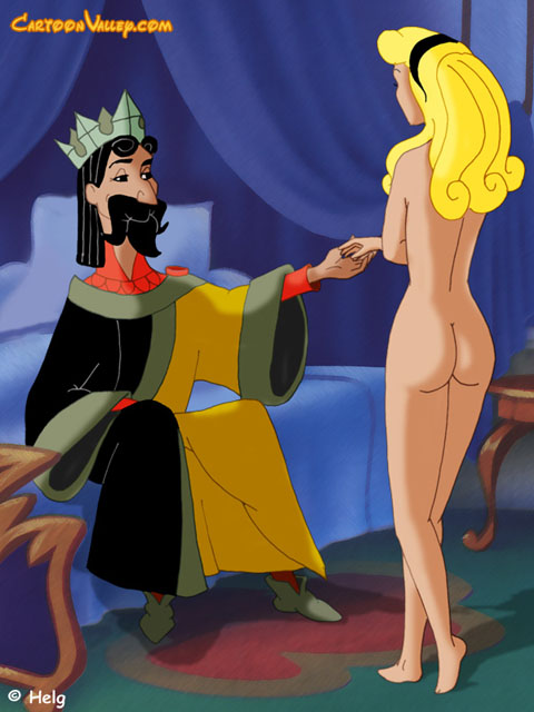 Disney sleeping beauty naked