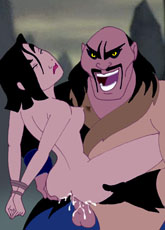Mulan is getting raped