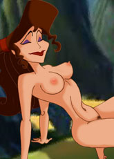 Sexy Meg posing