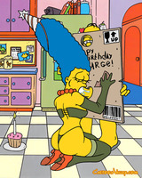 Simpsons glory hole blowjob action