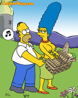 Simpsons sex picnic