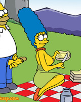 Simpsons sex picnic