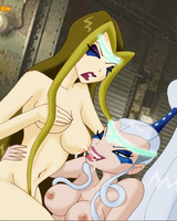 Winx Witches Trix and Darcy lesbian sex