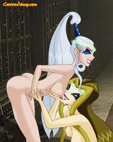 Trix and Darcy hot lesbians