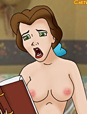Belle reads sex book