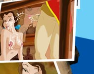 Belle gets facial cumshot