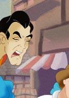 Gaston fucks Belle