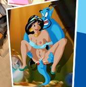 Jasmine fucked by horny Genie