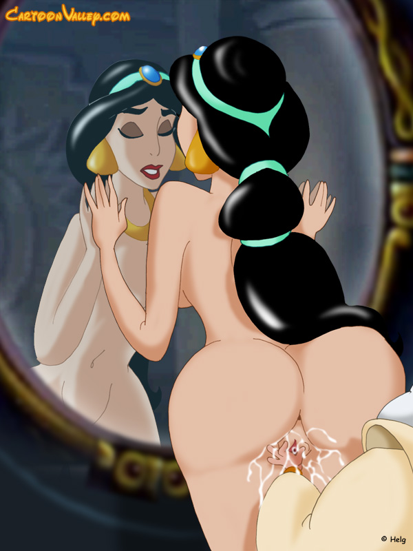 Aladdin jasmine naked from