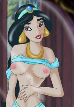 Jasmine show her boobs