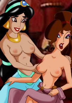 Naked Jasmine and Meg