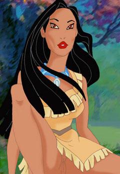 Hot Pocahontas