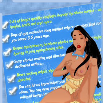 Pocahontas Adult Comics Cartoons