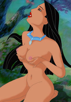 Beautiful Pocahontas totally naked