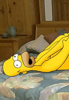 Horny Simpsons fucking