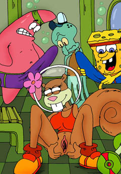 Horny Sponge Bob and his friends