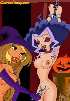Dirty Winx girls