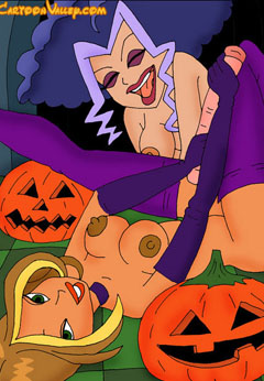 Winx girls in lesbian action