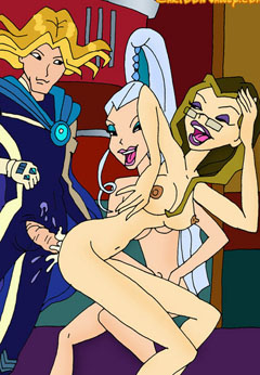 Hot Winx Witches fucking