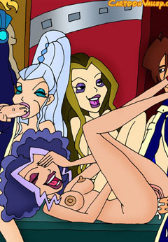 Winx Witches inhardcore action